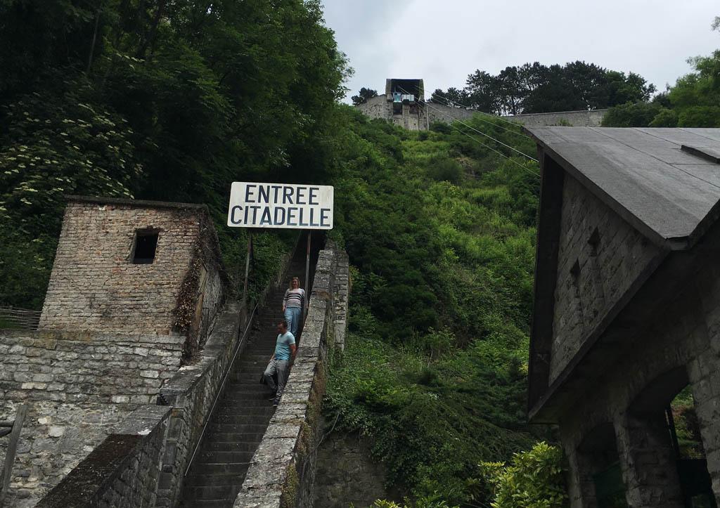Entree van de citadel.