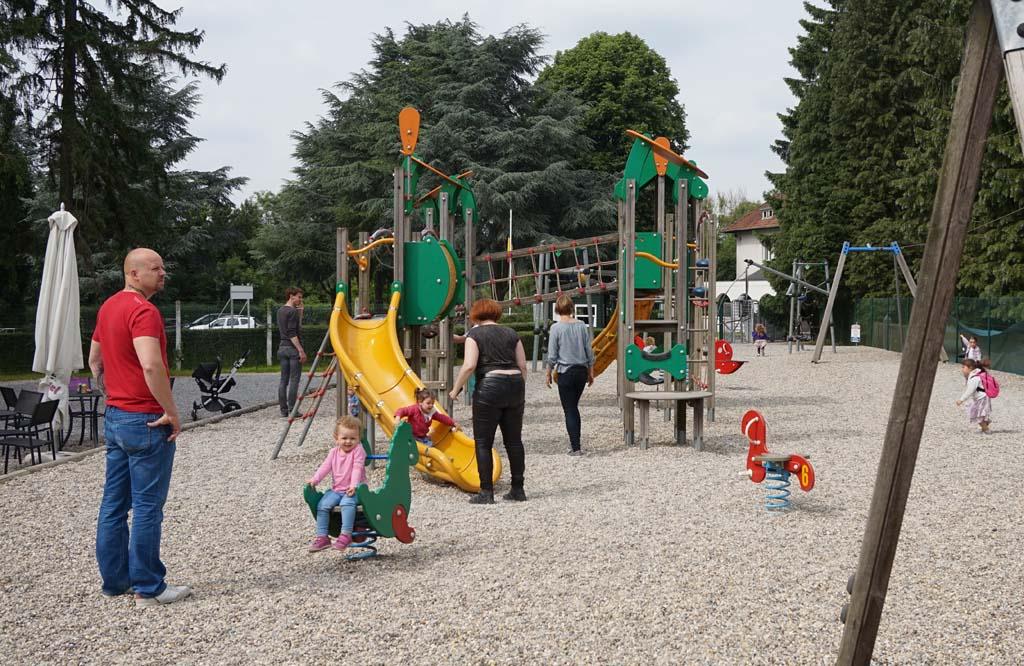 De speeltuin bij de Citadel.