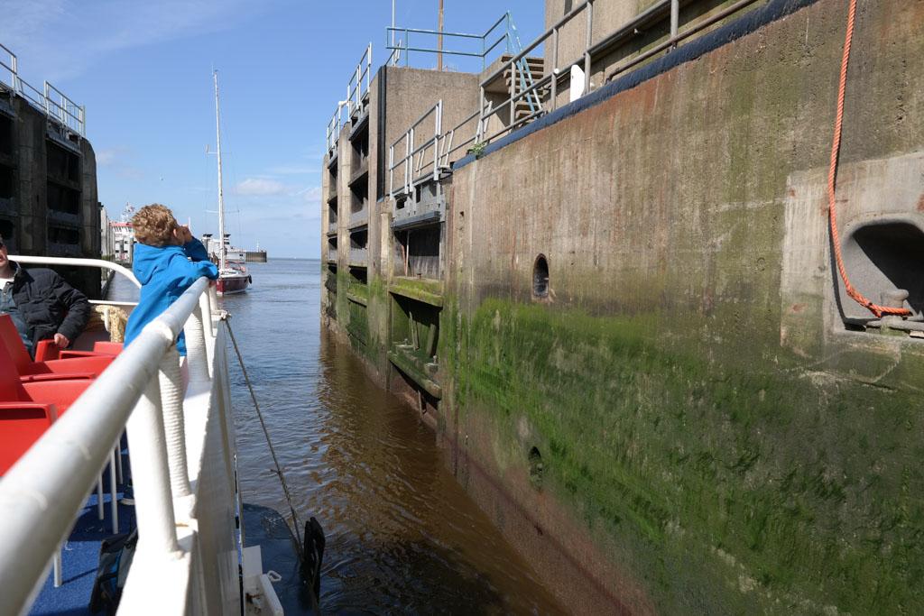 Van het Lauwersmeer naar de Waddenzee.