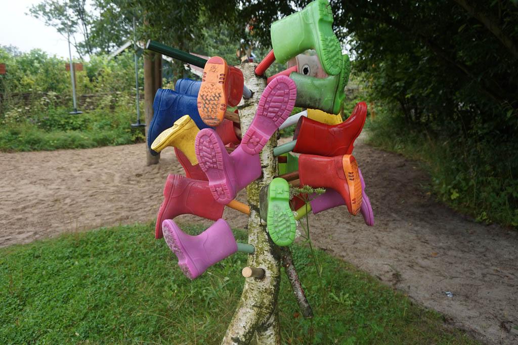 De Kruidhof heeft laarsjes in alle maten en kleuren te leen