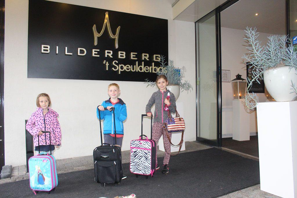 Wij gaan een nachtje logeren bij hotel 't Speulderbos.