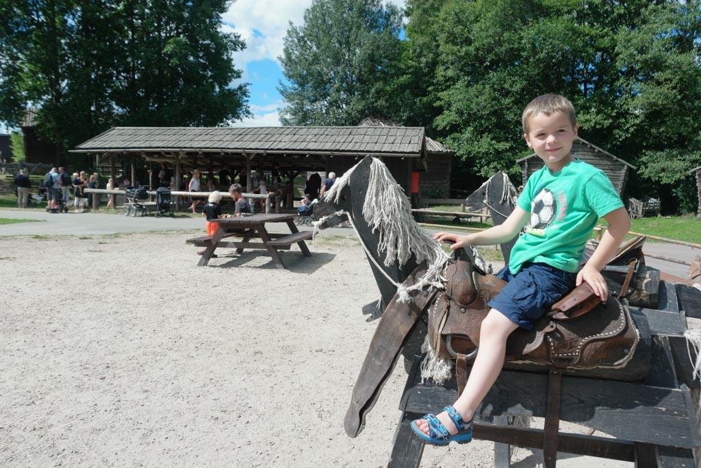 'Paard' rijden.