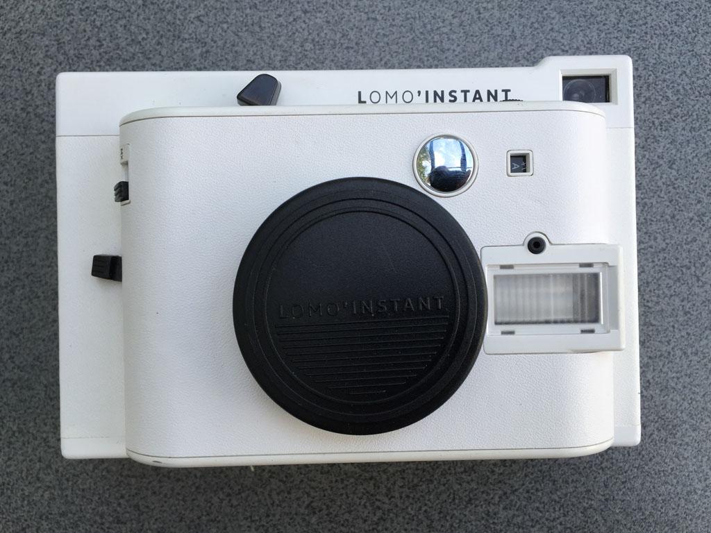 De instant camera van LOMO.