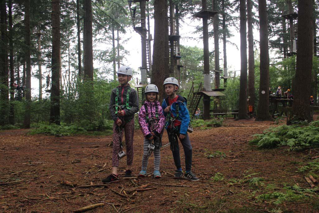Trots op ons trio klimgeiten.