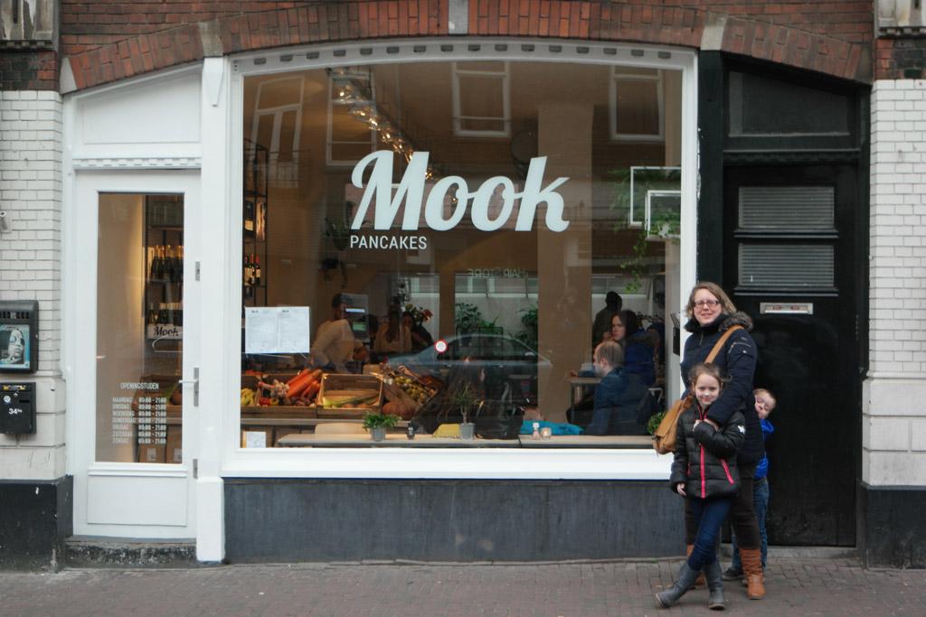 MOOK Pancakes in Amsterdam.