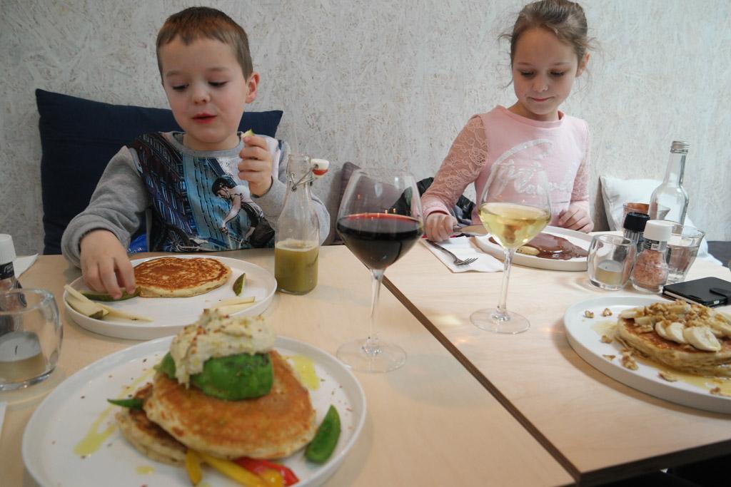 Ook de pancakes van Gerard en Camiel zien er goed uit.