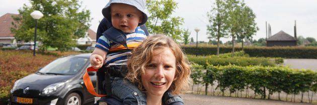 Review: Minimeis baby- en kinderdrager voor op je schouders