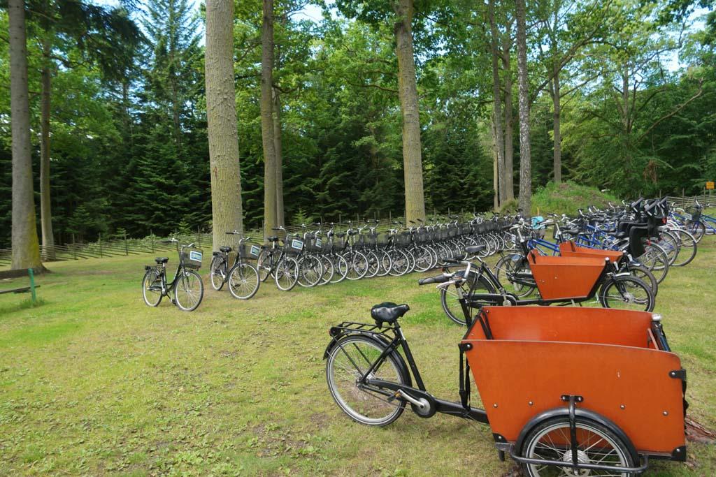 Genoeg keuzes voor gezinnen qua fietsen.