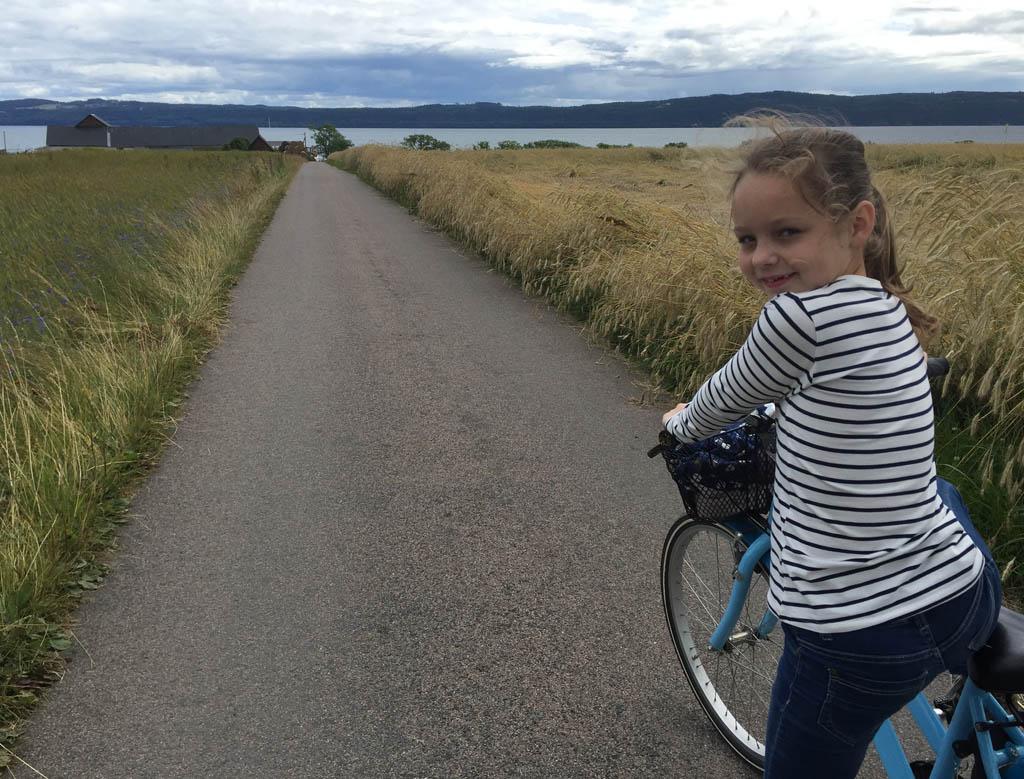 Maureen fietst de 2x vijf kilometer zonder mopperen.