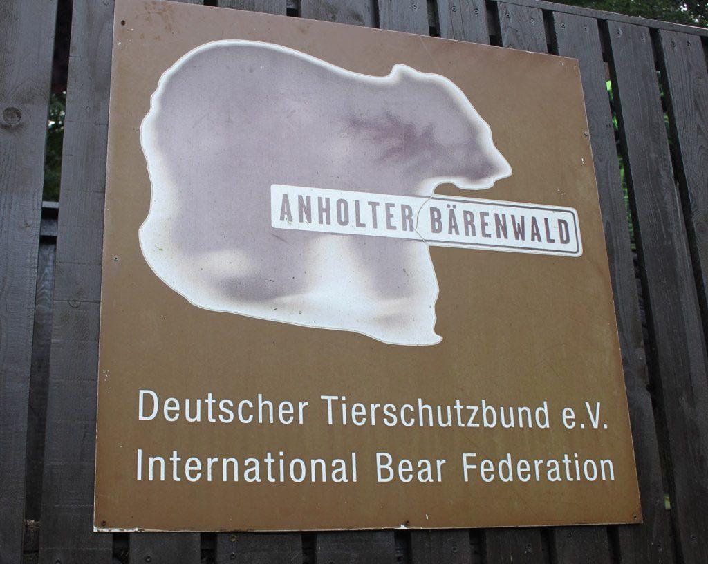 Het berenbos.