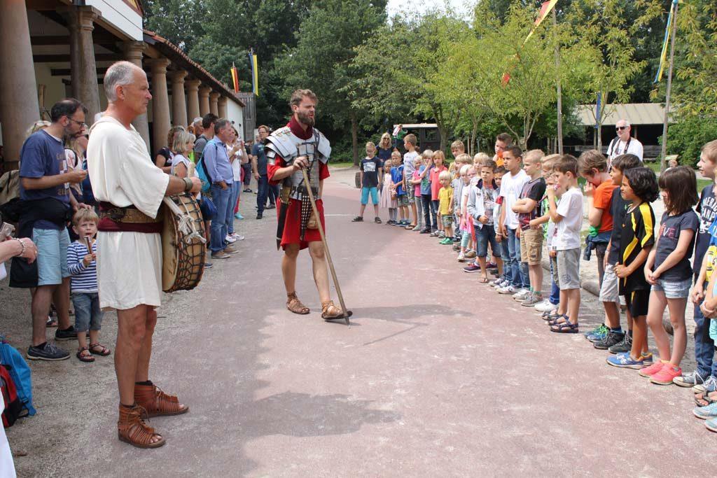 Goed opletten, deze Romeinse centurio is best streng.