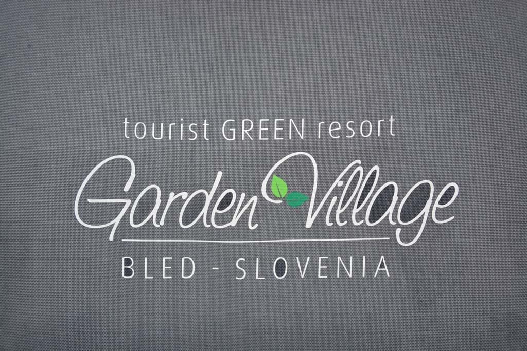 Ons glampingavontuur bij Garden Village Bled kan van start gaan.