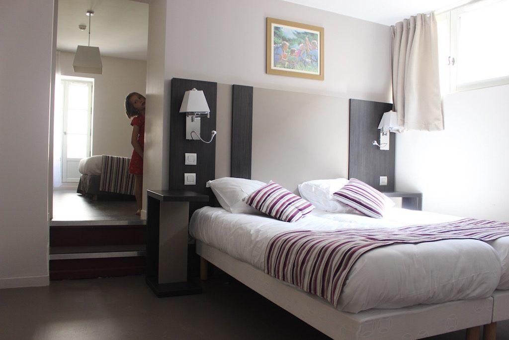 Ruime slaapkamers met heerlijke bedden.