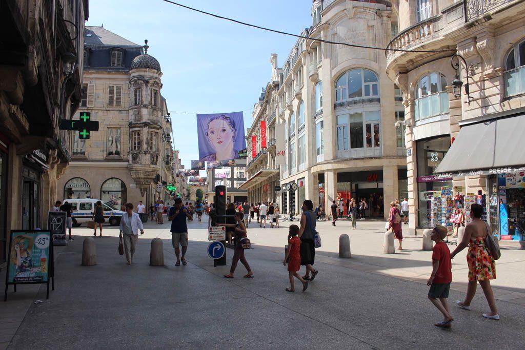 Shoppen gaat prima in Dijon.