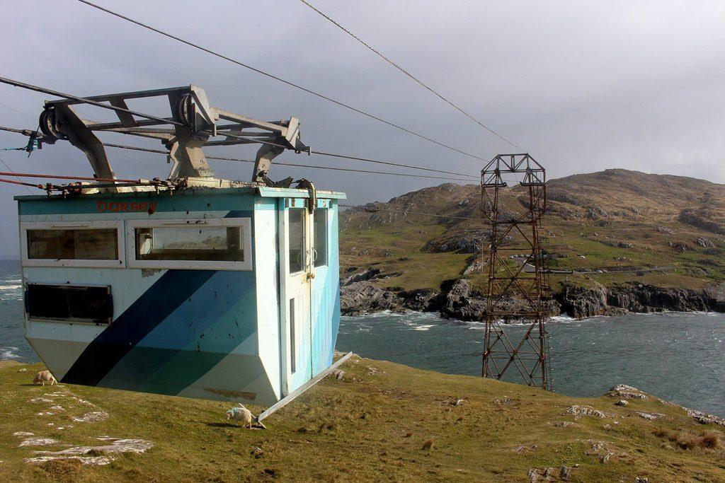 Met de kabelbaan naar Dursey Island is een belevenis!