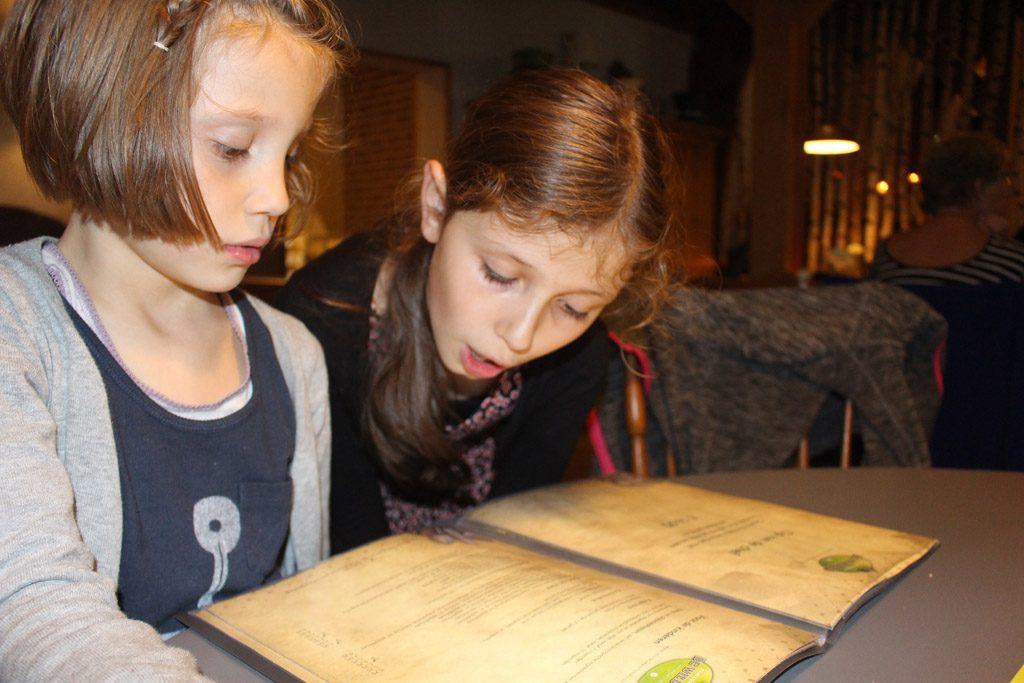 De keuze is reuze... Lastig kiezen voor onze kinderen bij Familierestaurant De Wildebras.