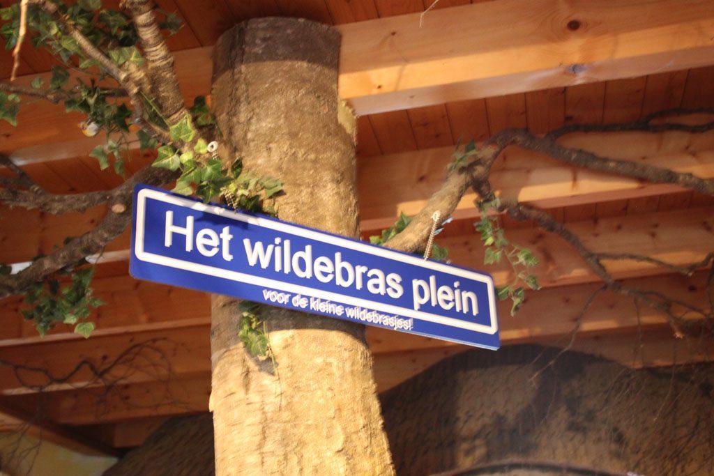 Spelen doe je in familierestaurant De Wildebras op het Wildebras plein.