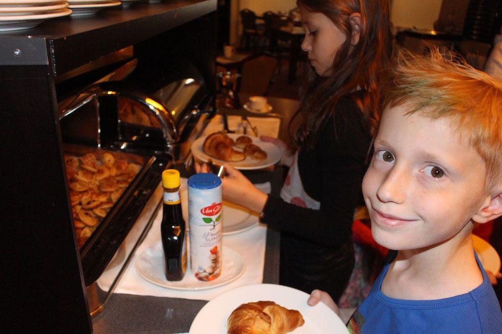 Poffertjes als ontbijt.Ik moet er niet aan denken, maar mijn kinderen wel.