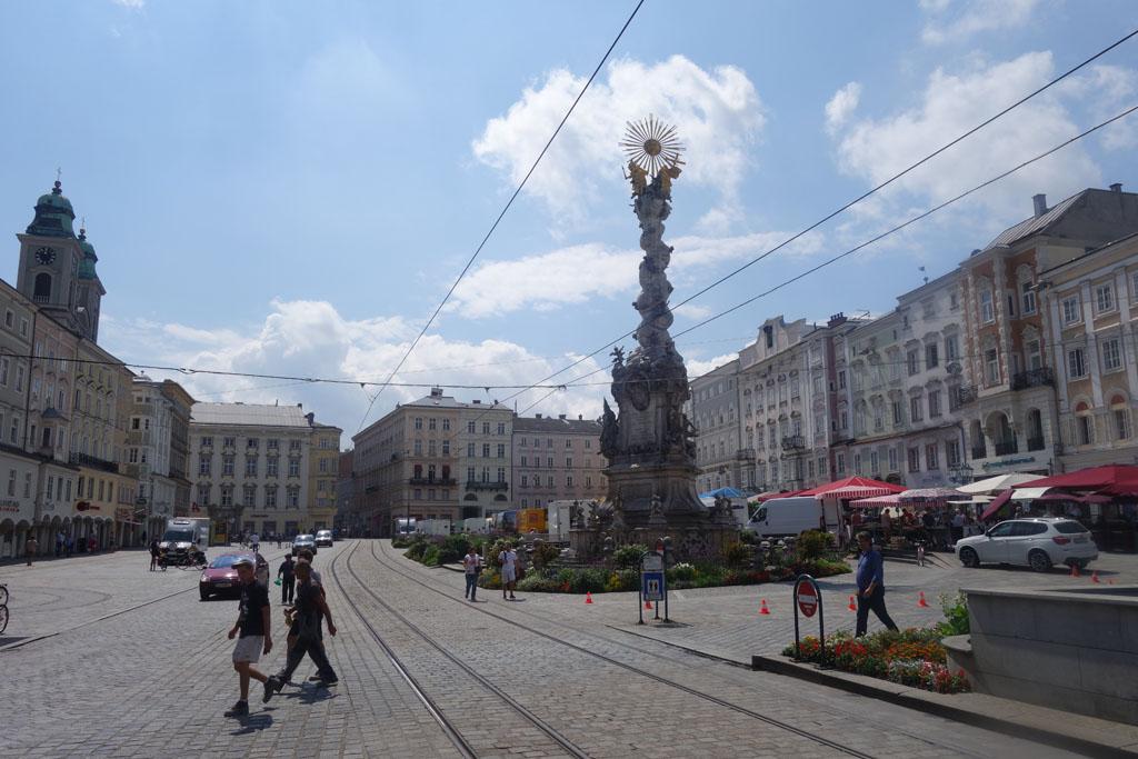 Linz is een prachtige oude stad aan de Donau.