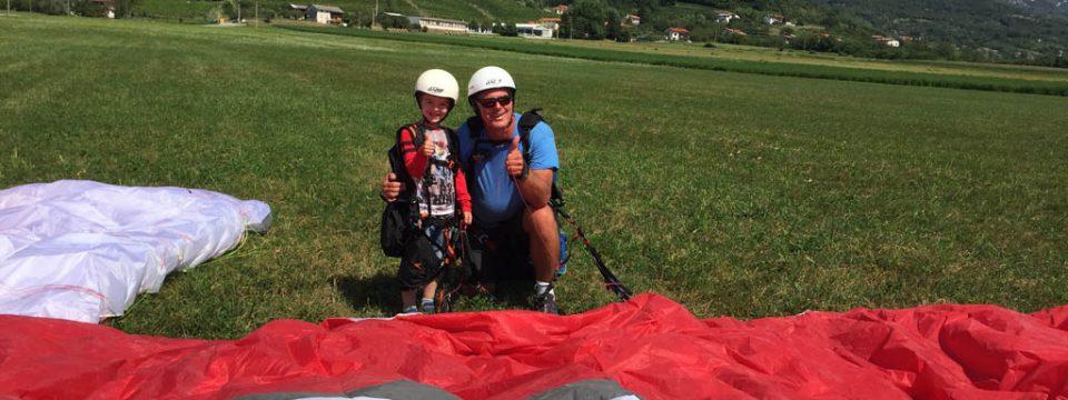 Paragliden met kinderen in Slovenië? Ja, doen!