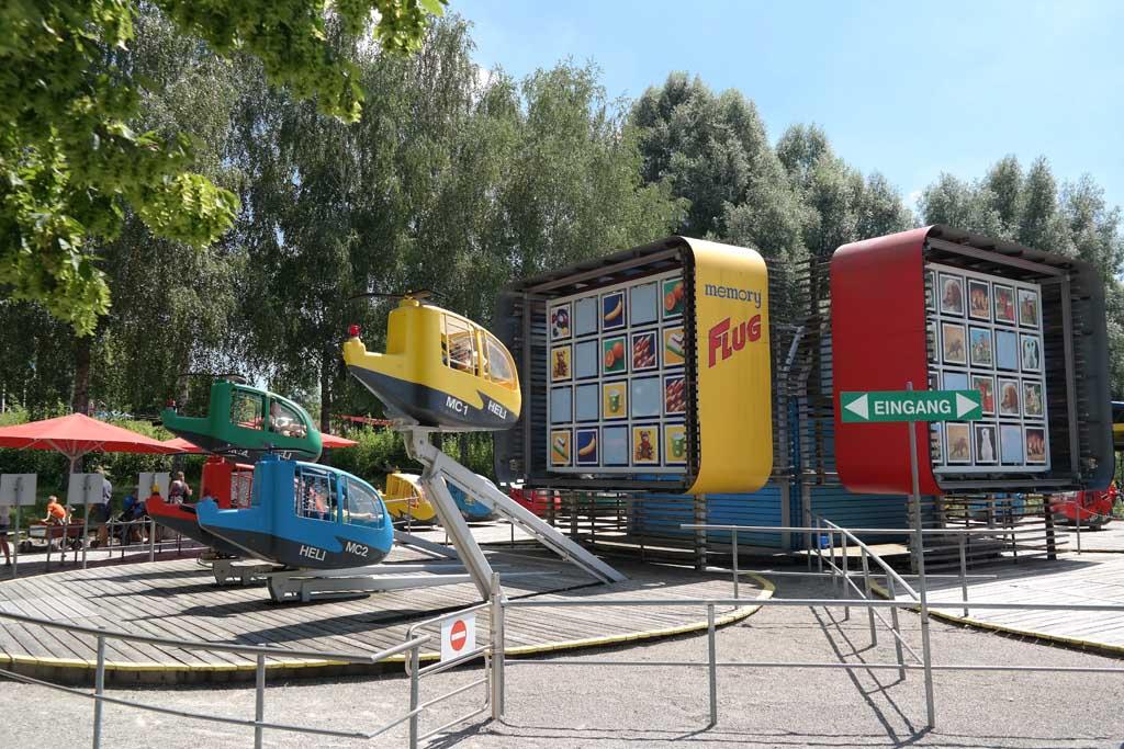 Memory helikoptervlucht in de Kakelbonte Spellenwereld van Ravensburger.