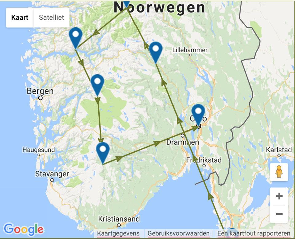 Rondreis noorwegen met kinderen 'Grethe' van Buro Scanbrit (afbeelding: Buro Scanbrit).