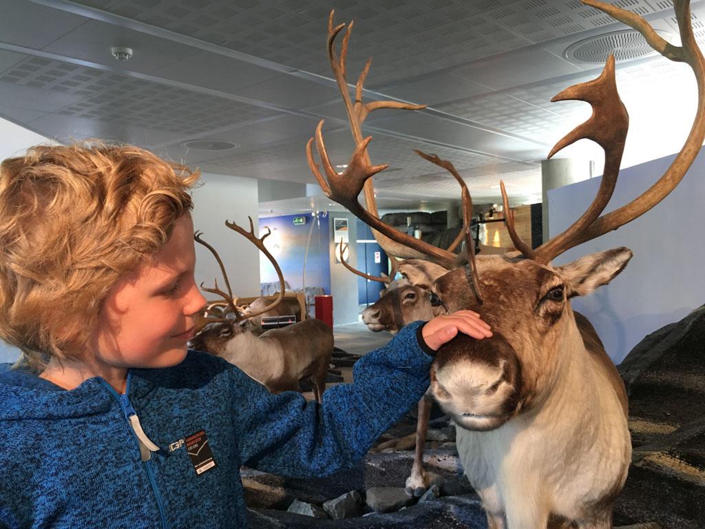 Bezoek aan Hardangervidda Turistsenter.