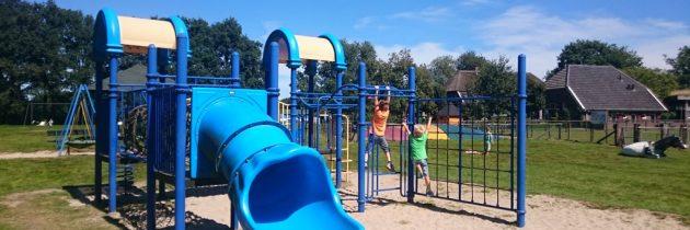 Heerlijk buiten spelen bij speel- en kinderboerderij Strubbert in Laren