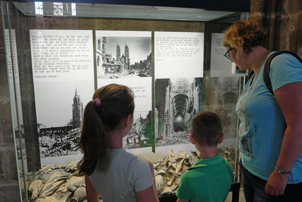 Indrukwekkende foto's over de bombardementen in Neurenberg.