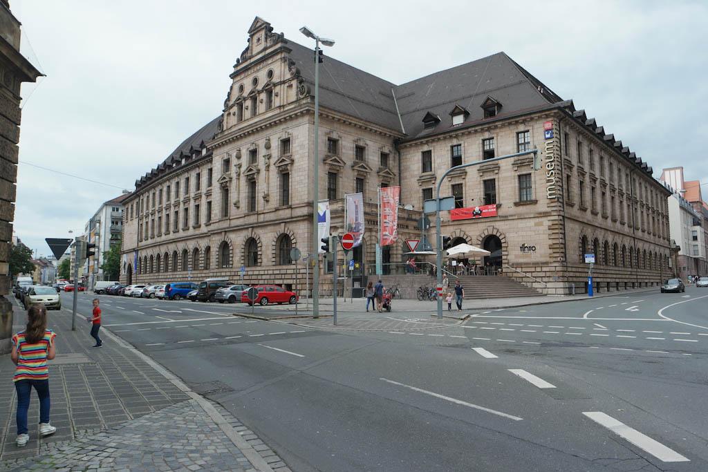 Het Deutsche Bahn Museum.