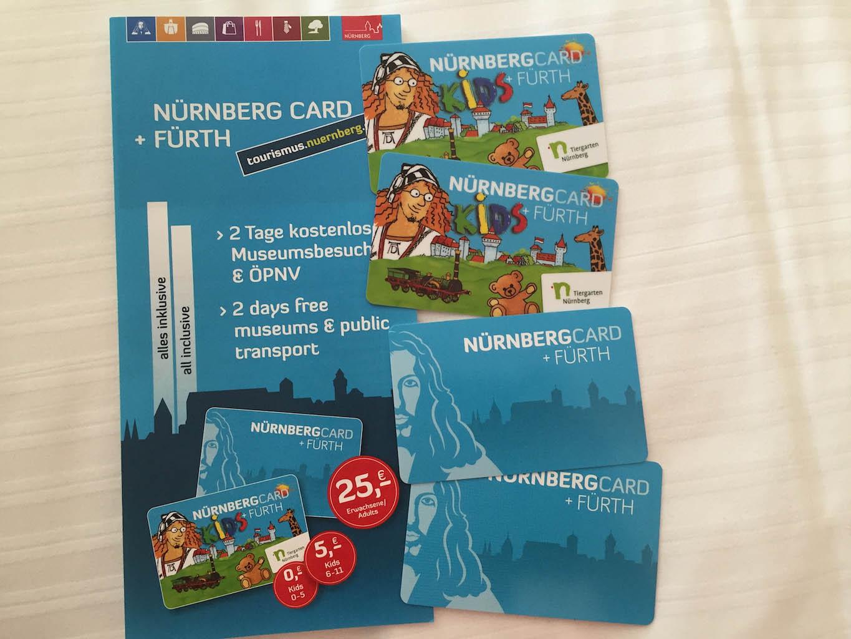 Met de Neurenberg Card op zoek gaan we de stad verkennen.