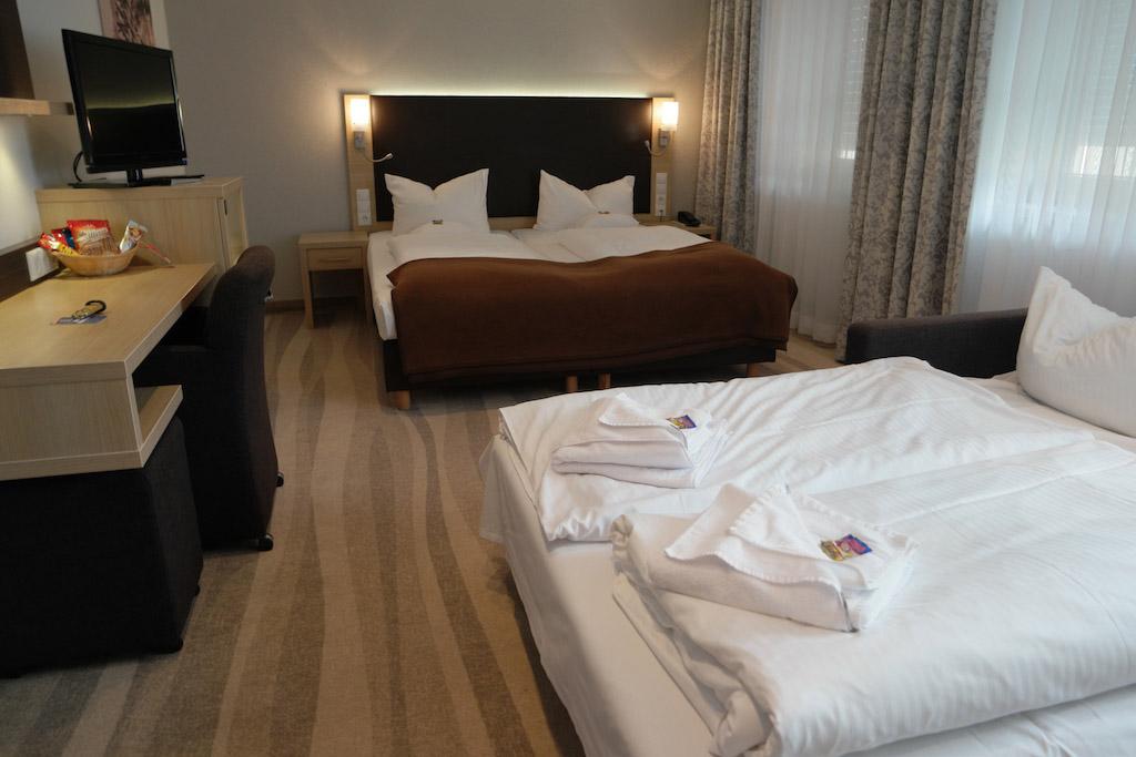 Familiekamer in ons hotel in Neurenberg.