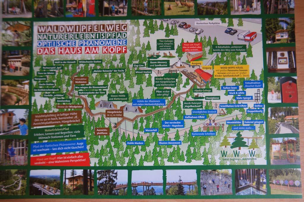 Waldwipfelweg Sankt Englmar is meer dan alleen een boomkroonpad.