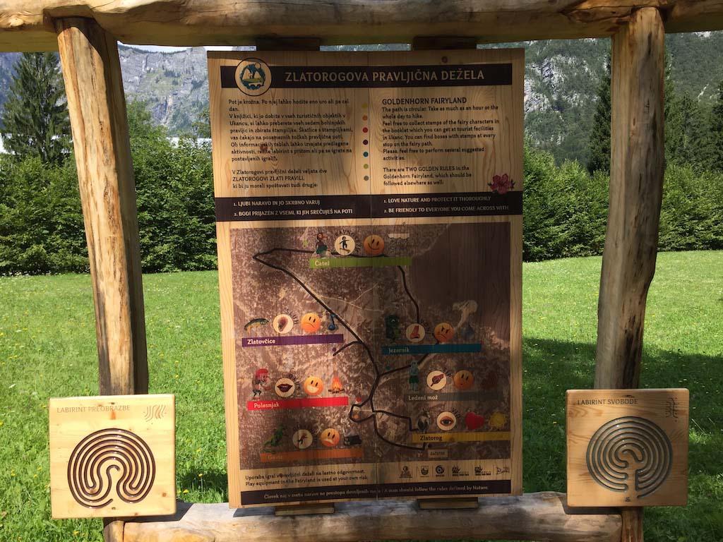 Het startpunt van Goldenhorns Fairyland.