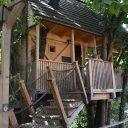 Glamping in Slovenie: overnachten in een boomhut bij Garden Village Bled