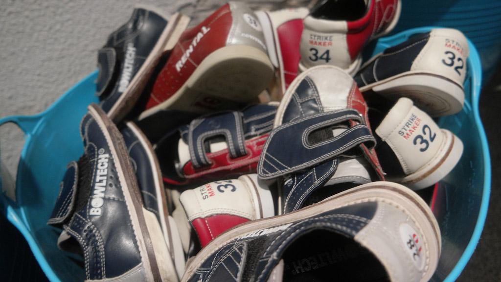 Bowlingschoen in kindermaten.