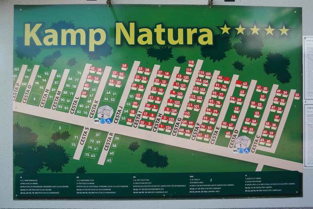 Kamp Natura, de camping bij het aquapark.