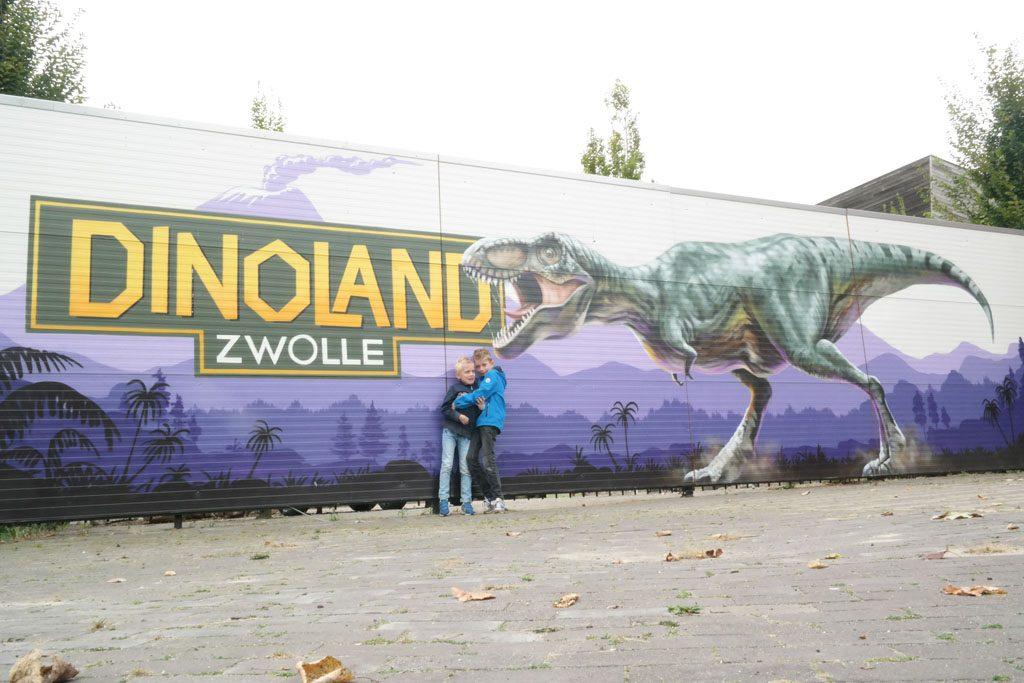 Themapark Dinoland in Zwolle.