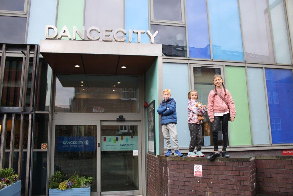 Dance City in Newcastle.