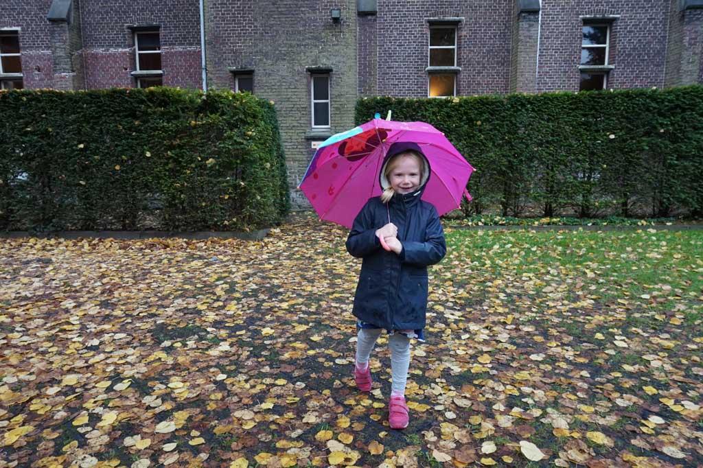 De regen mag de pret niet drukken!