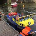 De boot goed vast knopen.