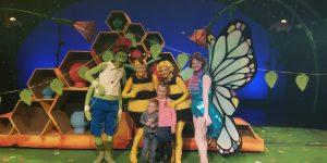 Nieuw in het theater van Studio100: Maya de Bij en de pollenbollen