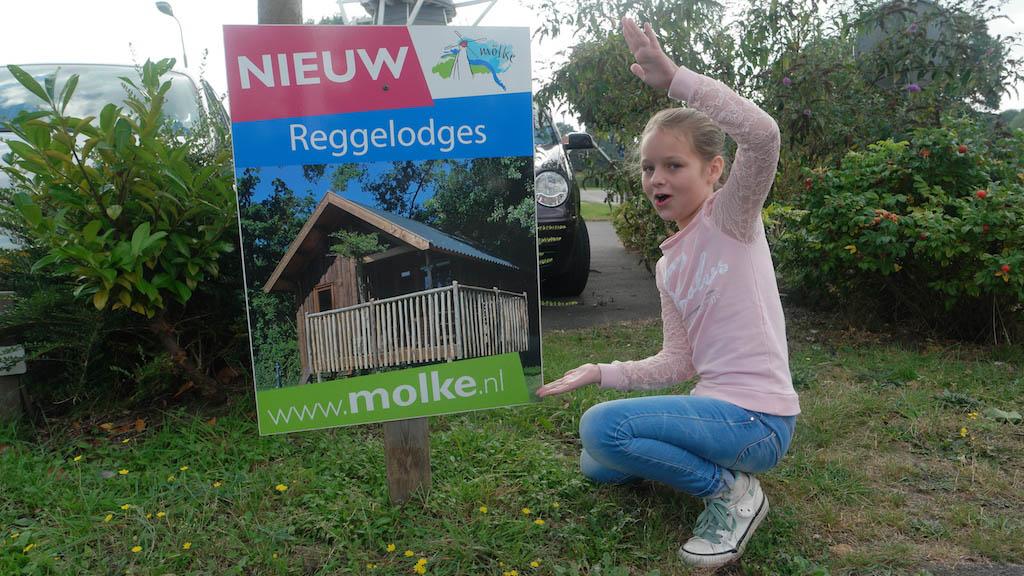 De Regge Lodges zijn nieuw.