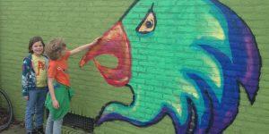 Stadswandeling in Heerlen langs stoere street art