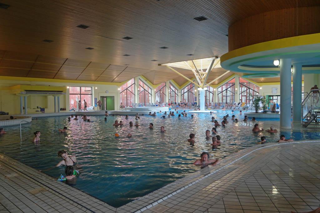 Een deel van het zwembad.