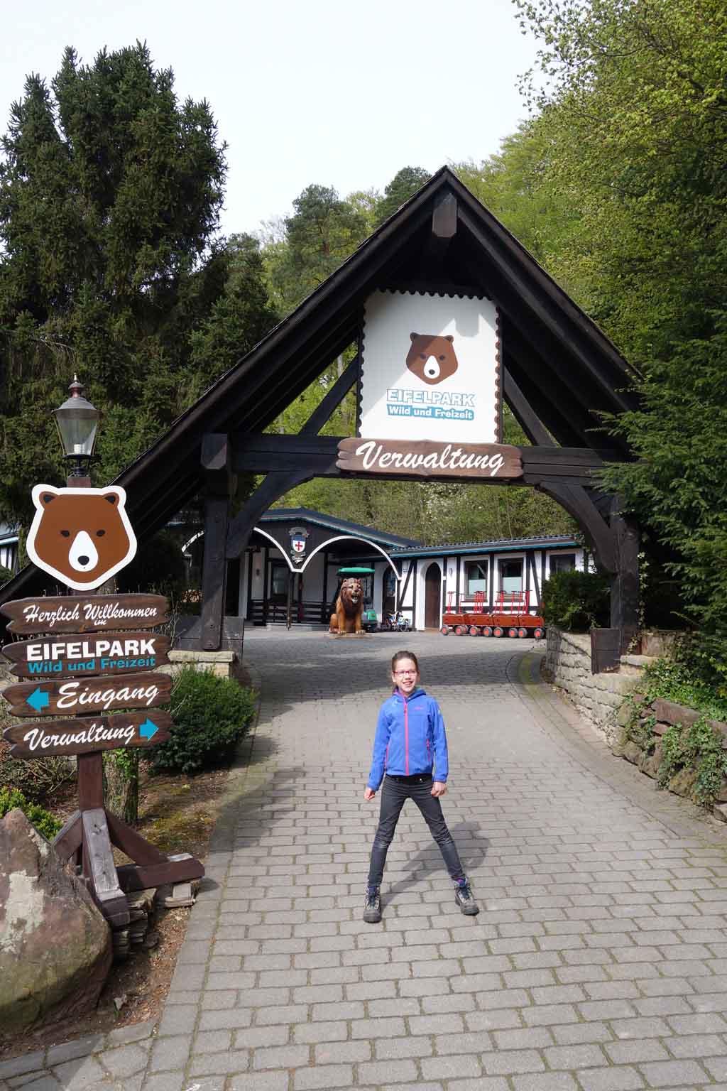 We brengen een bezoek aan het Eifelpark.
