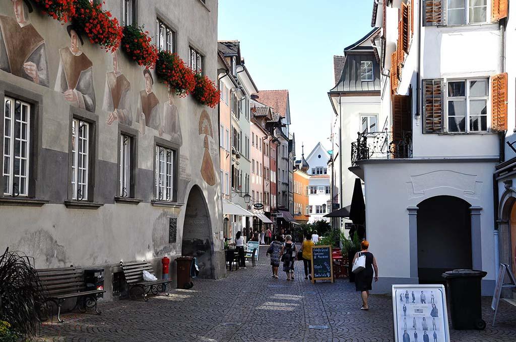 Schilderachtig Feldkirch.
