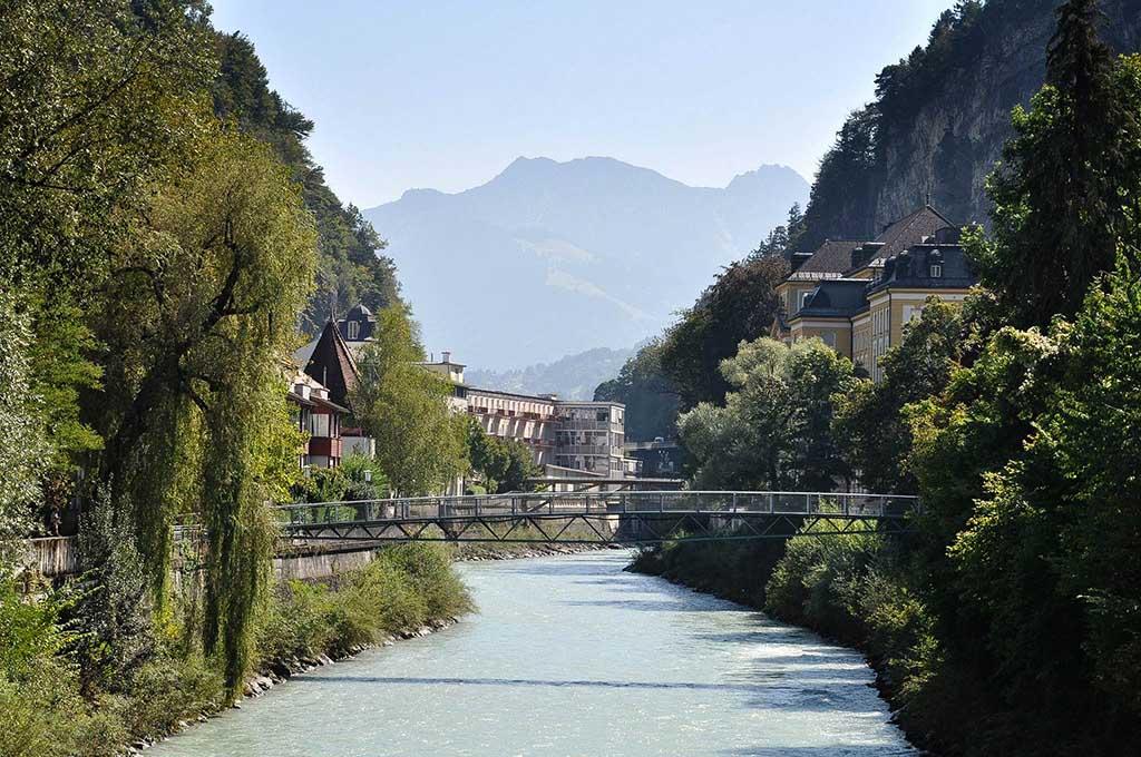 Wandelen door Feldkirch.