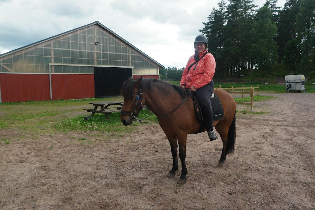 Ik op een paard.