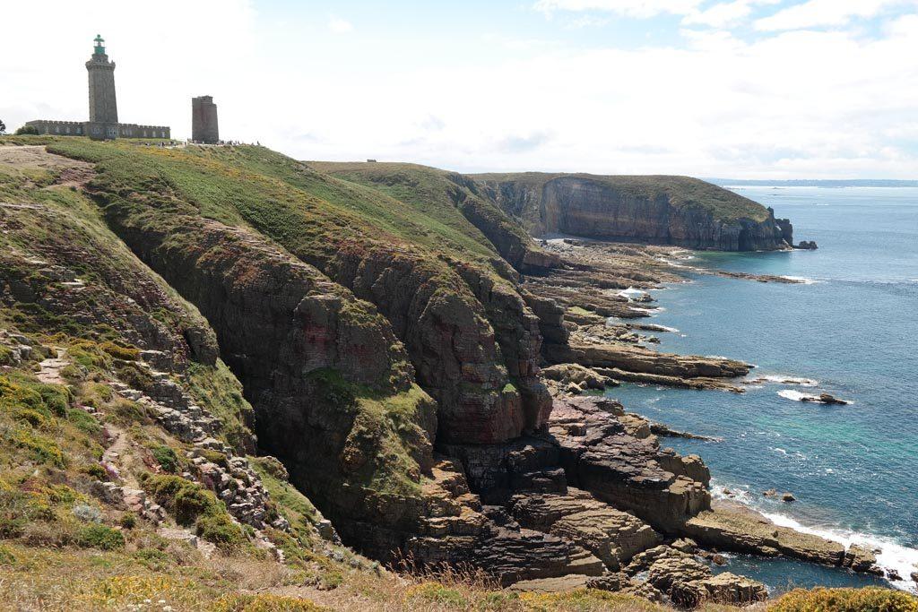 Indrukwekkende kust van Bretagne.